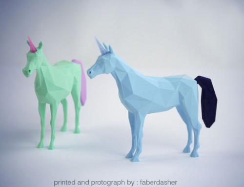 Low-Poly Unicorn